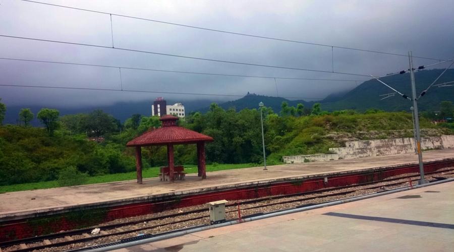 Shri Mata Vaishno Devi Katra railway station, Vaishno Devi Yatra, Katra, Jammu and Kashmir, India