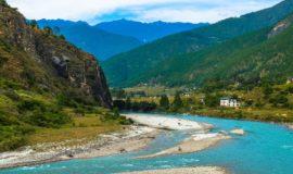 River @ Bhutan, Asia