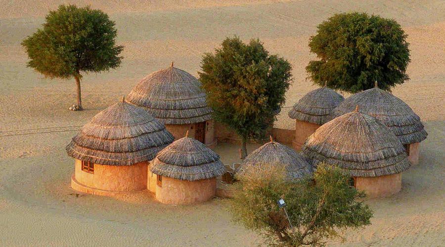 Khimsar, Thar Desert, Jaisalmer, Rajasthan, India