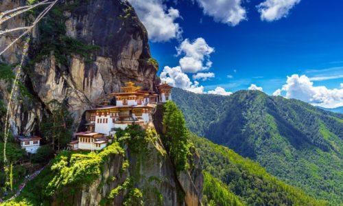 Paro Taktsang (Tiger Nest's), Bhutan, Asia