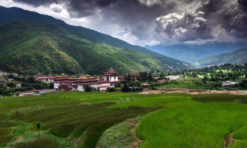 Tashichho Dzong, Thimphu, Bhutan, Asia