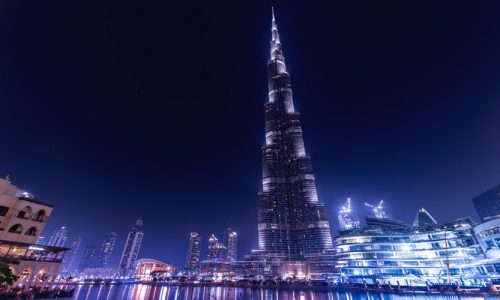 Burj Khalifa, Dubai, United Arab Emirates, Middle East