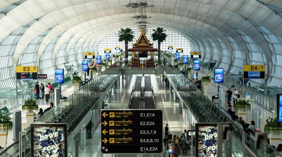 Airport @ Bangkok, Thailand, Asia
