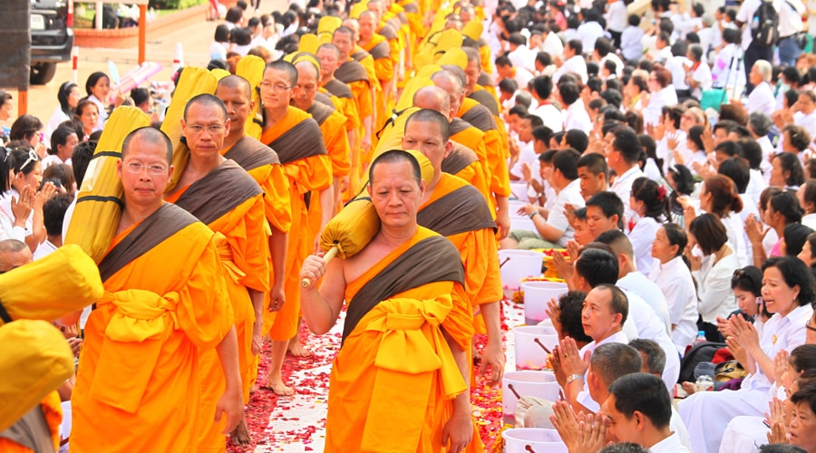 Buddhist, Bangkok, Thailand, Asia