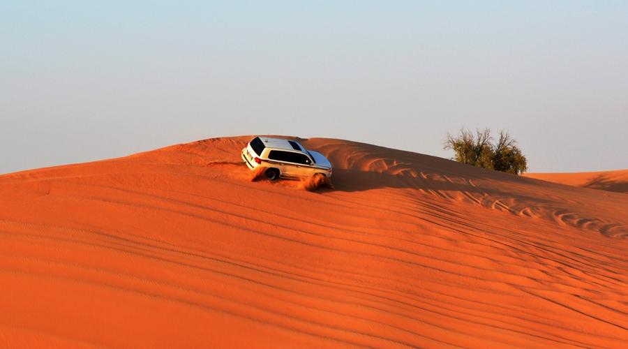 Desert Safari, Al Qudra Desert, Dubai, United Arab Emirates, Middle East