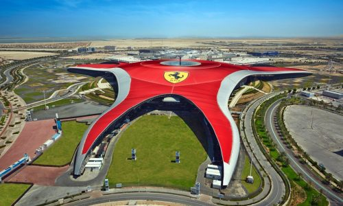 Ferrari World, Abu Dhabi, United Arab Emirates, Middle East