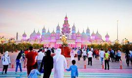 Gate of The World, Global Village, Dubai, United Arab Emirates, Middle East