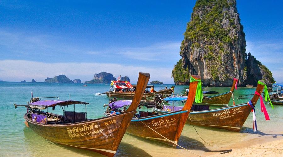 Khao Phing Kan Island (Ko Khao Phing Kan), Phang Nga Bay, Phuket, Thailand, Asia
