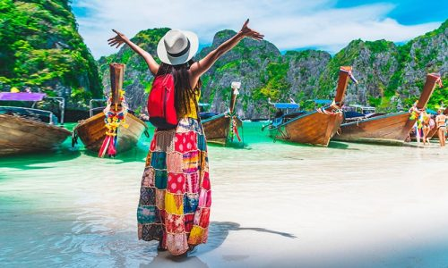 Romantic, Phi Phi Islands, Phuket, Thailand, Asia