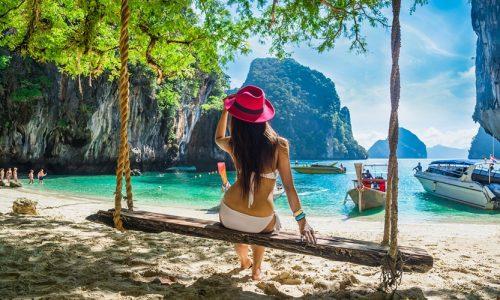 Romantic, Krabi Island, Thailand, Asia