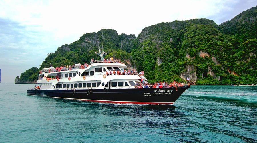 Phuket to Krabi Ferry, Thailand, Asia