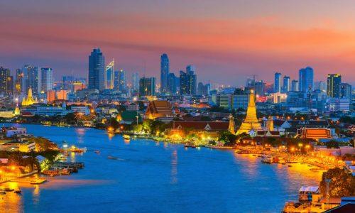 Skyline, Bangkok, Thailand, Asia