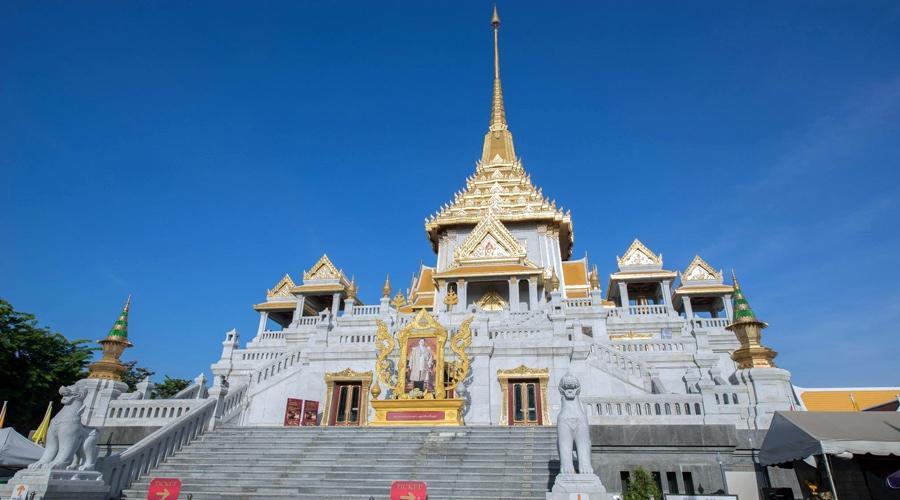 Wat Traimit Withayaram Worawihan (Golden Buddha), Bangkok, Thailand, Asia