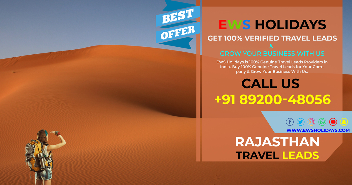 EWS Holidays - Rajasthan Travel Leads
