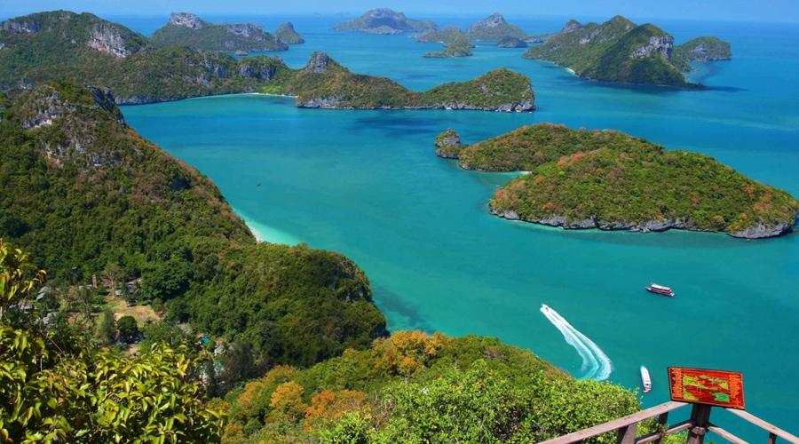 Mu Koh Angthong National Marine Park, Ko Samui, Thailand, Asia