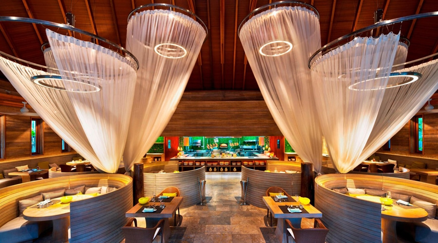 Dining, W Maldives by Marriott International, Fesdu Island, Maldives, South Asia