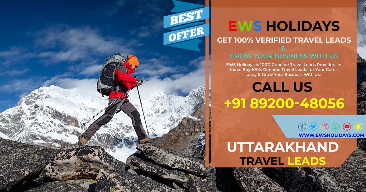 EWS-Holidays - Uttarakhand Travel Leads