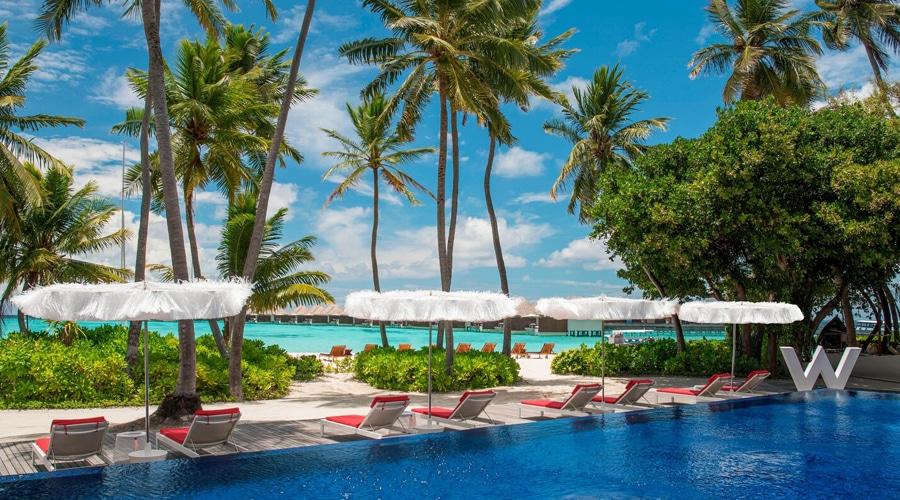 Wet Deck @ W Maldives by Marriott International, Fesdu Island, Maldives, South Asia