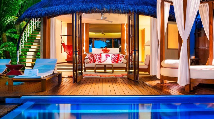 Wonderful Beach Oasis Pool, W Maldives by Marriott International, Fesdu Island, Maldives, South Asia
