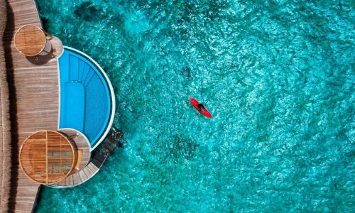 Wow Ocean Escape Room, W Maldives by Marriott International, Fesdu Island, Maldives, South Asia