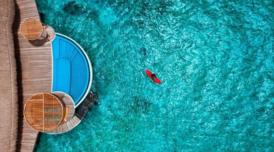 Wow Ocean Escape Room, W Maldives by Marriott International, Fesdu Island, Maldives, South Asia