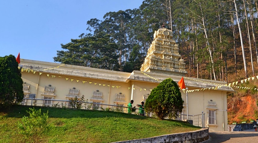 Shri Bhakta Hanuman Temple, Nuwara Eliya, Sri Lanka, Asia