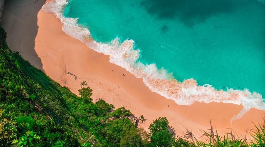 Kelingking Beach, Nusa Penida, Penida Island, Bali, Indonesia, Asia