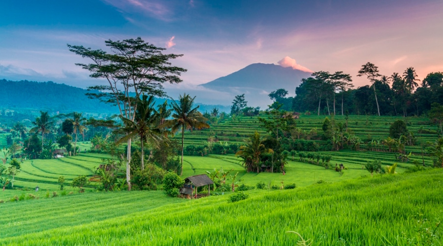 Mount Agung, Bukit Cinta, Bali, Indonesia, Asia