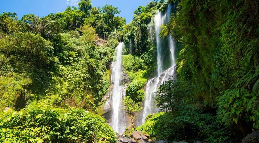 Sekumpul Waterfall, Singaraja, Bali, Indonesia, Asia