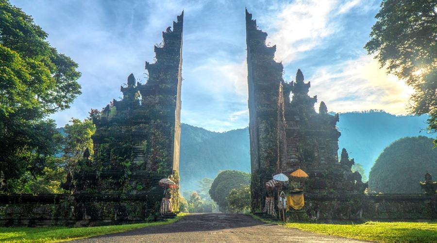 Taman Ayun Temple, Bali, Indonesia, Asia