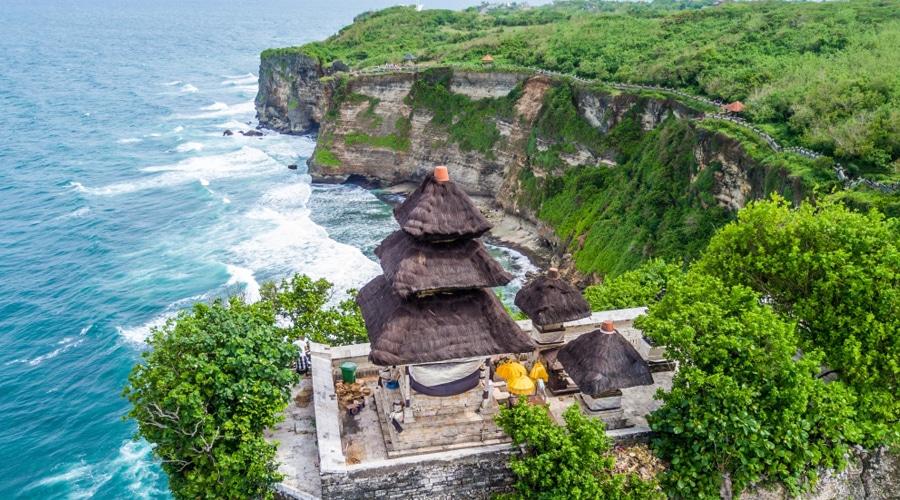 Uluwatu Temple, Pecatu, South Kuta, Badung Regency, Bali, Indonesia, Asia