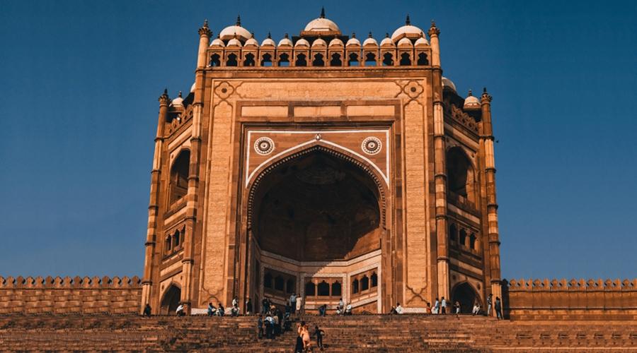 Buland Darwaza, Fatehpur Sikri, Uttar Pradesh, India, Asia