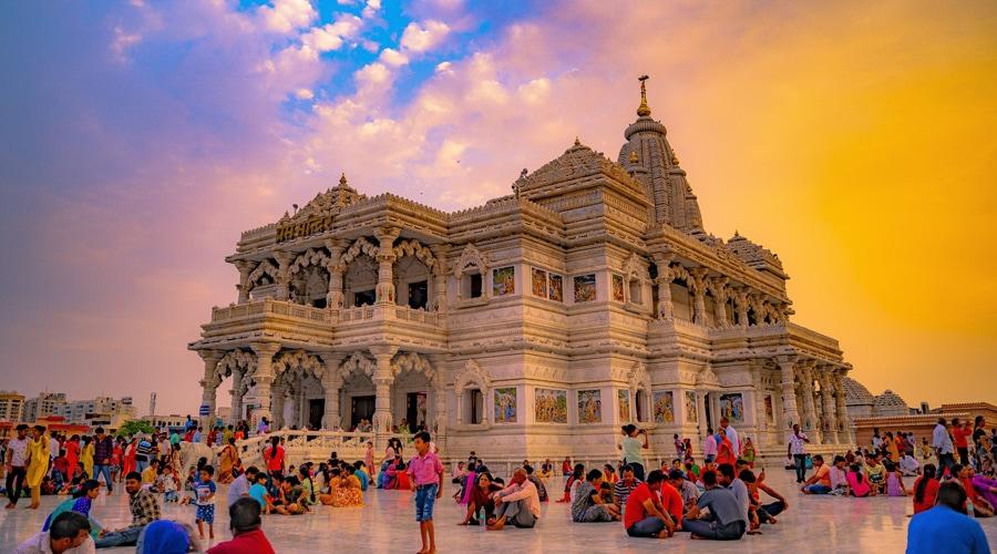 Prem Mandir, Vrindavan, Uttar Pradesh, India, Asia