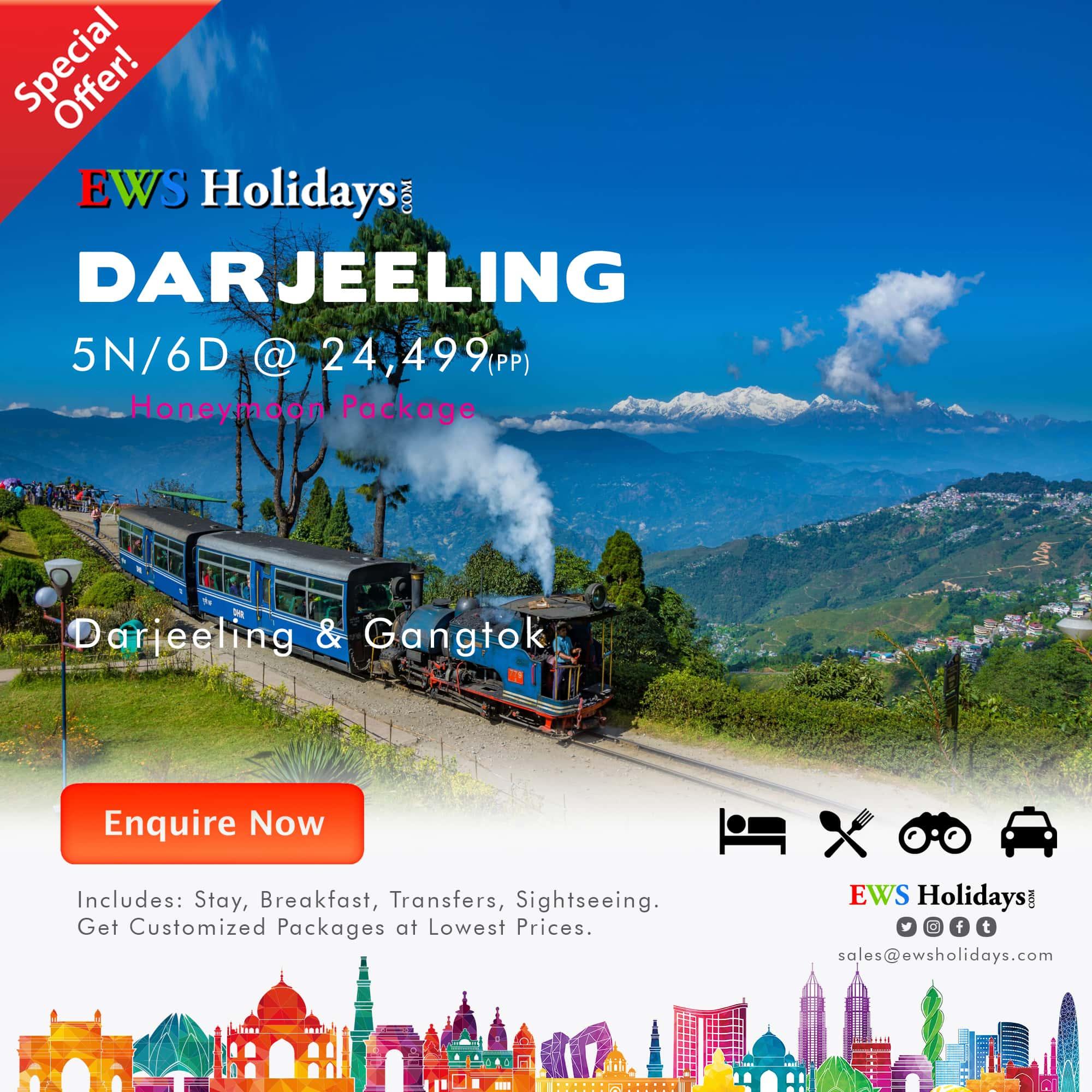 Darjeeling 5N-6D @ 24499