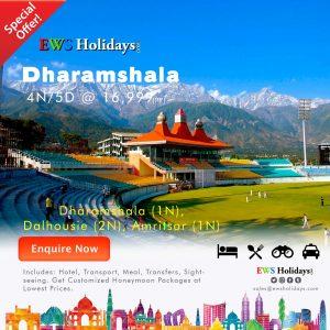 Dharamshala 4N-5D @ 16999-3