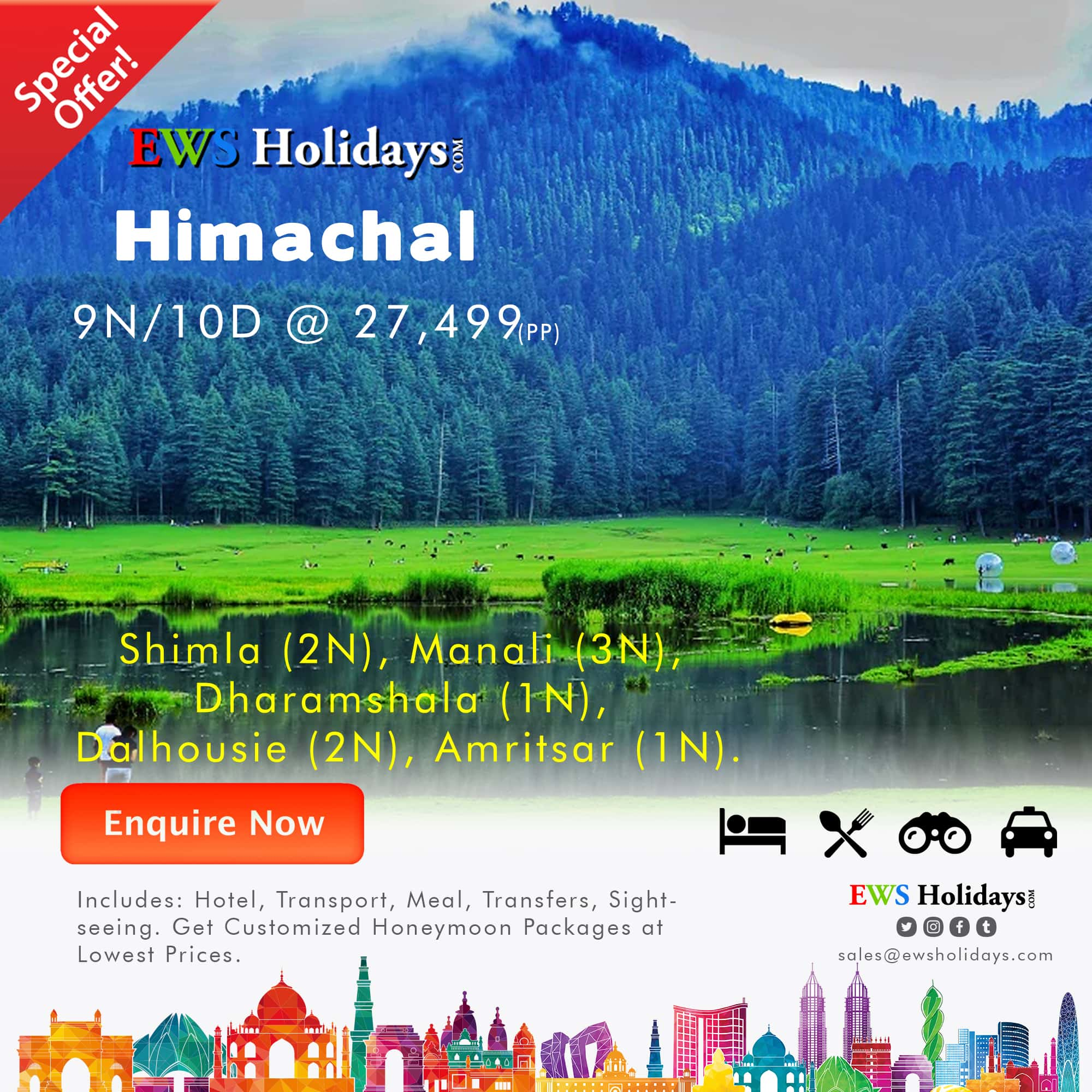Himachal-9N-10D-1@-27,499