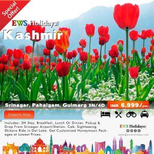 Kashmir Tour 3N/4D @ 6,999