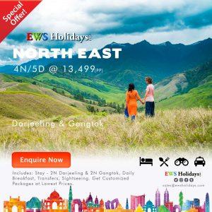 North East 4N-5D @ 13499