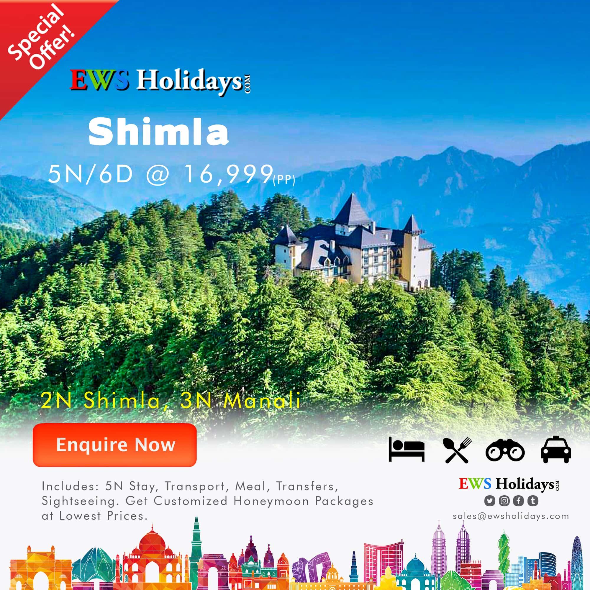 Shimla,-Manali-@-16,999